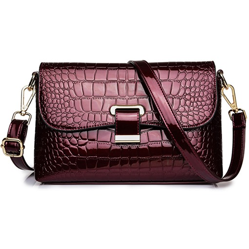 Ericdress Fashion PU Alligator Crossbody Women's Bags