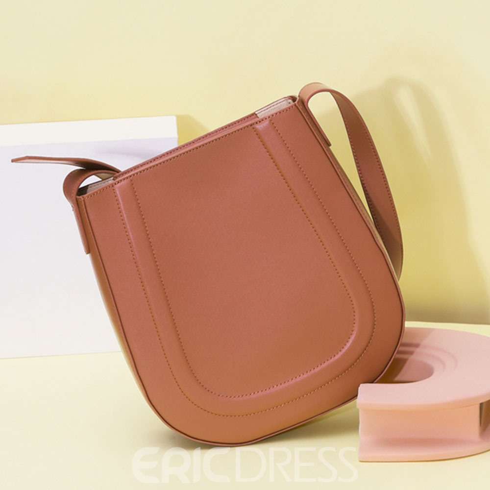 Ericdress Fashion Plain Thread Crossbody Women's Bags