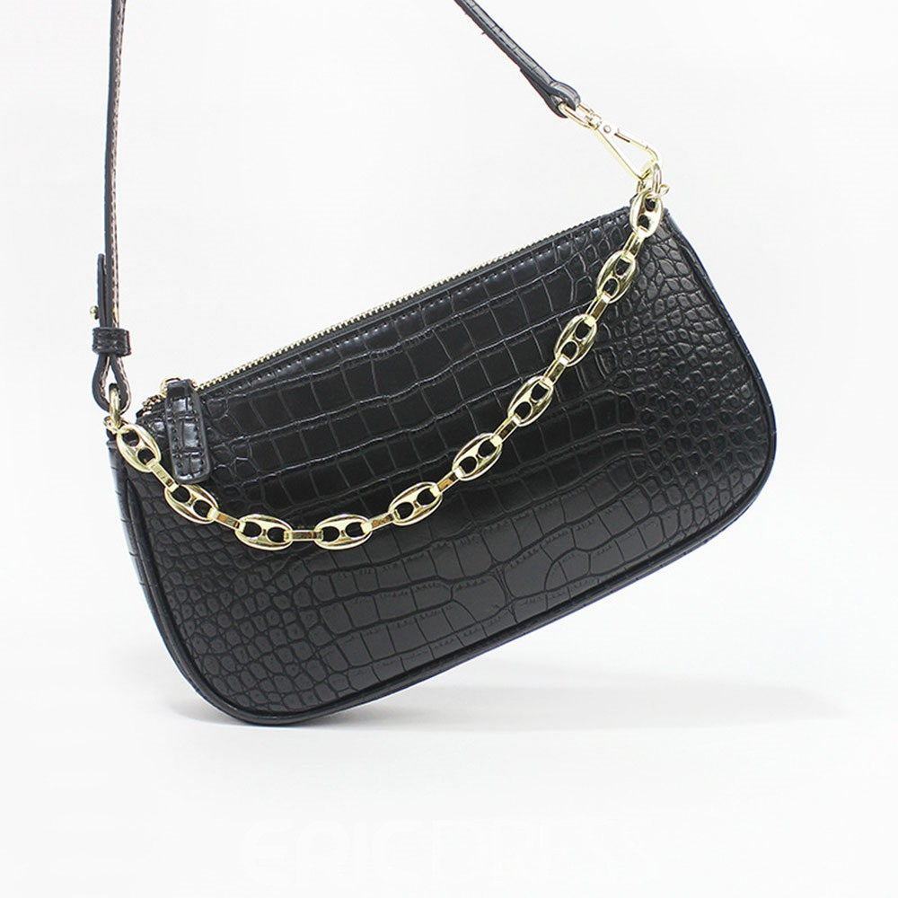 Ericdress Chain Plain Fashion Shoulder Women's Bags