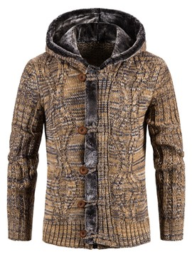Ericdress Standard Hooded Winter European Men's Sweater
