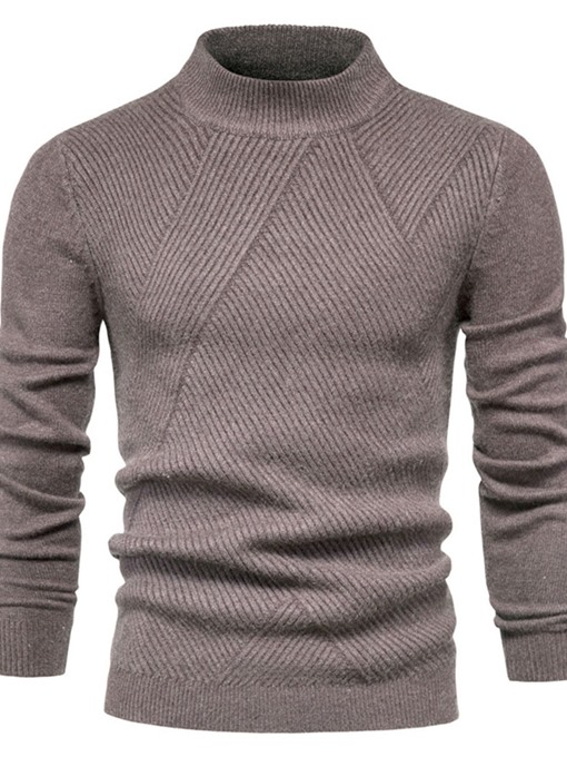 Ericdress Plain Standard Winter Casual Men's Sweater