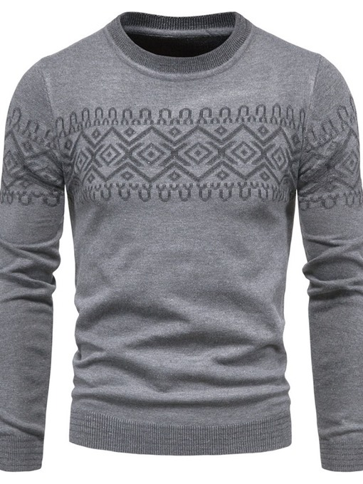 Ericdress Standard Round Neck Fall Korean Men's Sweater