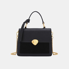 Ericdress Plain Chain PU Crossbody Bags