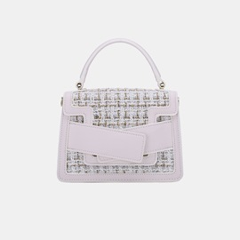 Ericdress Patchwork PU Plain Crossbody Bags
