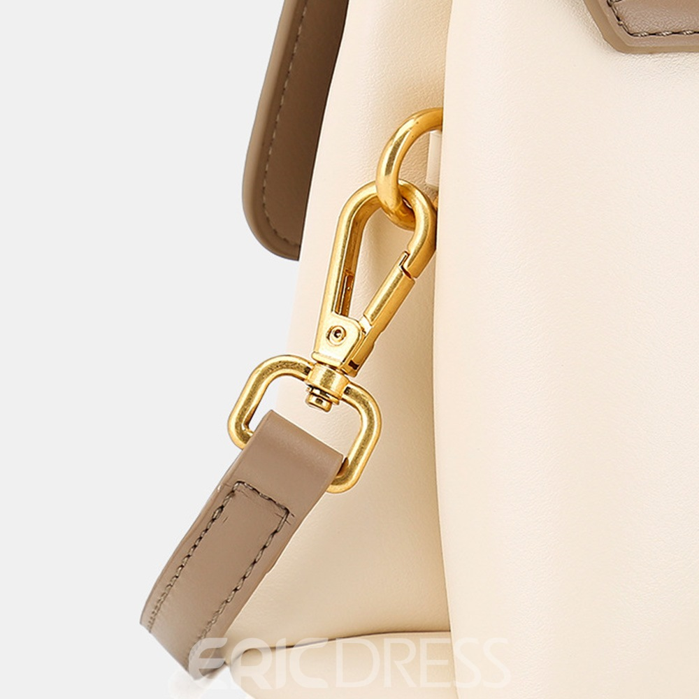 Ericdress Color Block Fashion PU Crossbody Bags