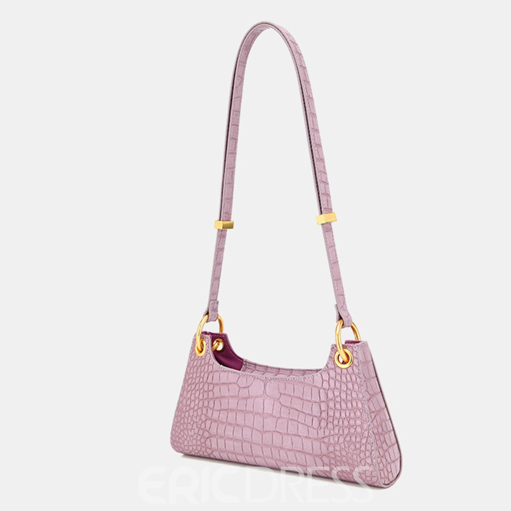 Ericdress Plain PU Sweet Crossbody Bags