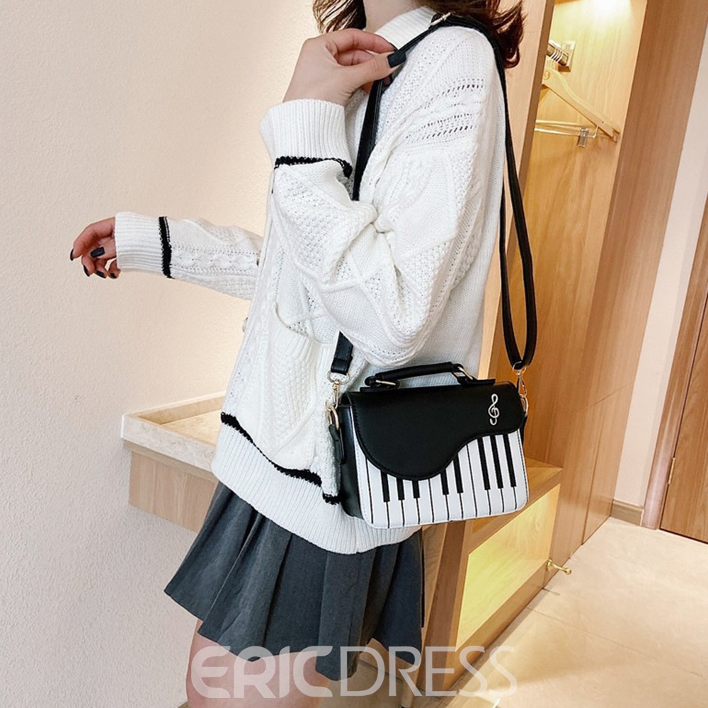 Ericdress Color Block Geometric Fashion Crossbody Bags