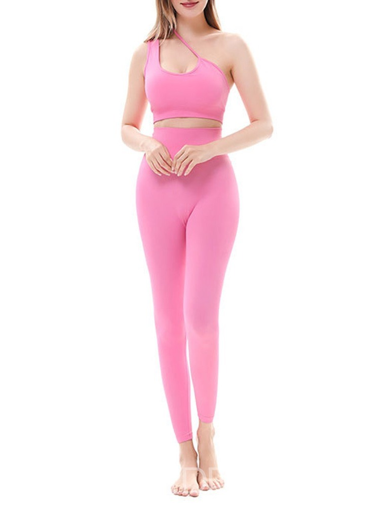 Ericdress Quick Dry Nylon Solid Full Length Pullover Clothing Sets