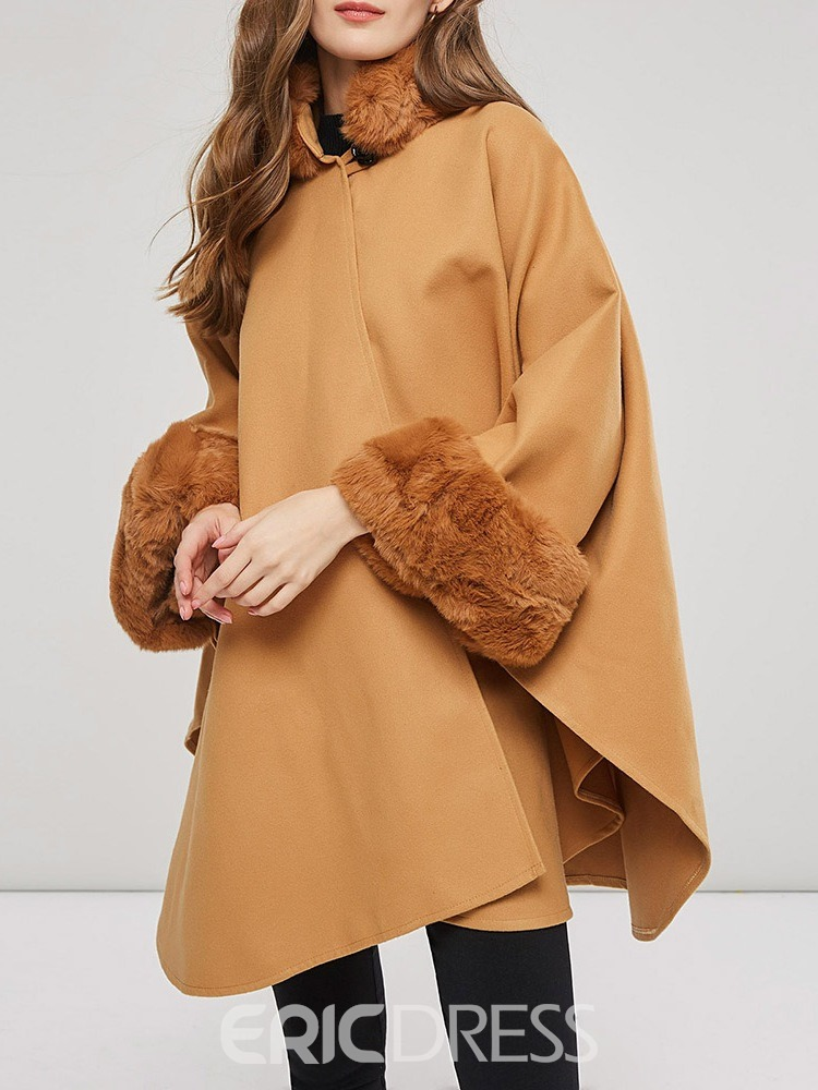 Ericdress Plain Vintage Winter Women's Cape