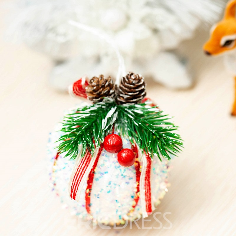 Ericdress Color Block Christmas Decoration Pendant Supplies