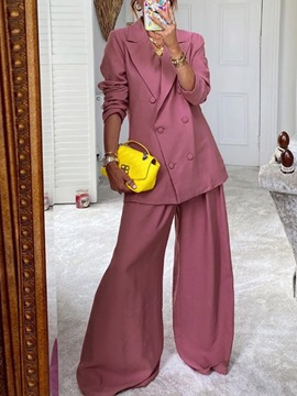 Ericdress Pants Party/Cocktail Full Length Women's Long Sleeve Suit