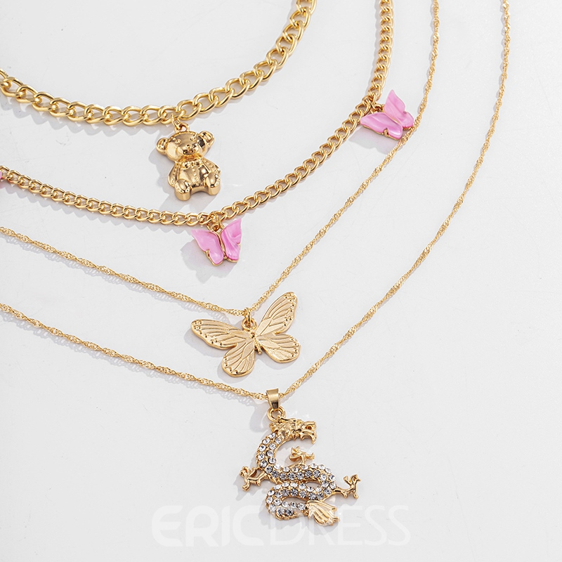Ericdress Sweet Pendant Necklace Female Necklaces