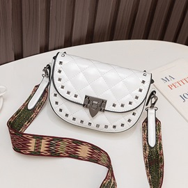 Ericdress Rivet PU Fashion Crossbody Bags