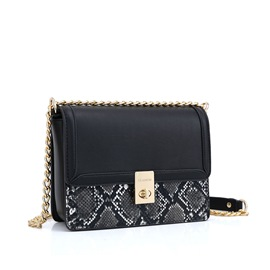 Ericdress PU Serpentine Chain Crossbody Bags