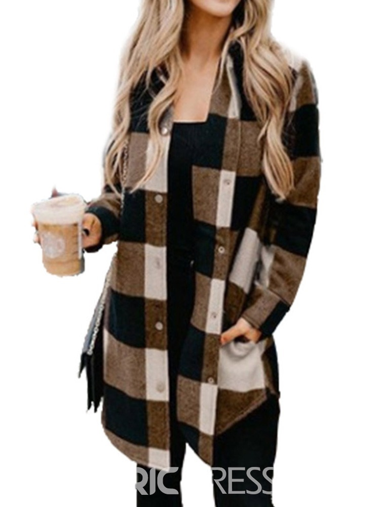 Ericdress Long Sleeve Loose Single-Breasted Regular Fall Jacket