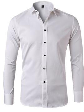ericdress revers ol chemise homme automne simple boutonnage uni