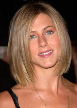 Ericdress Jennifer Aniston Hottest Short Haircuts Women's Bob Style Synthetic Hair Capless Wigs 12Inch
