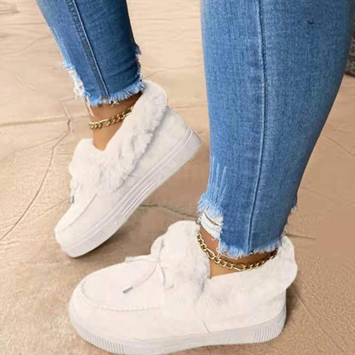 Ericdress Round Toe Slip-On Casual Women's Sneakers