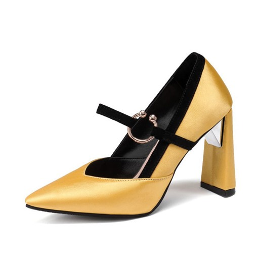 Ericdress Pointed Toe Slip-On Thread Banquet Thin Shoes