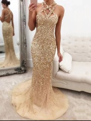 Ericdress Floor-Length Rhinestone Sleeveless Pullover Fall Dress