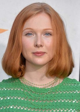 Ericdress Stacked Bob Haircut Ideas Blunt Wavy Ends Molly Quinn Straight Synthetic Hair Capless Wigs 14Inch
