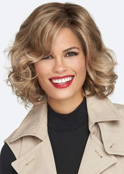 Ericdress Women's Medium Layered Hairstyle Wavy Synthetic Hair Capless Wigs 14Inch