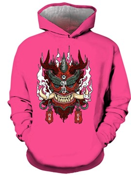 Ericdress Print Pullover Casual Men's Hoodies