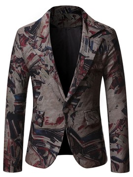 Ericdress Slim Notched Lapel One Button Leisure Blazer