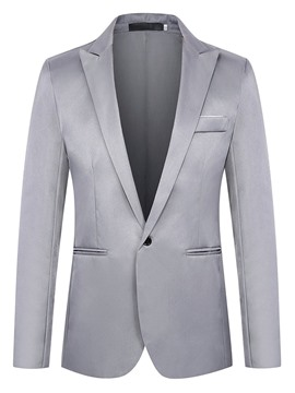 Ericdress OL One Button Notched Lapel Men's Blazer