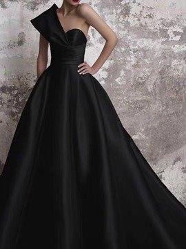 Ericdress Trumpet/Mermaid Court Sleeveless Floor-Length Formal Dress 2020
