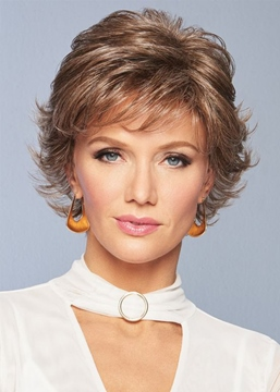 Ericdress Women's Short Layered Hairstyles Wavy Shaggy Synthetic Hair Capless Wigs 12Inch