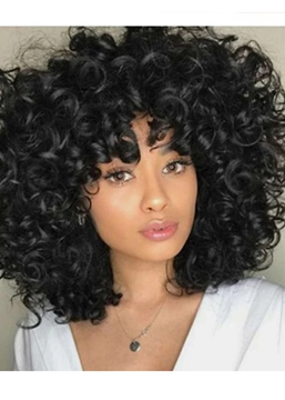 Ericdress Medium Hairstyles Women's Big Curly Synthtic Hair Capless Wigs 16Inch