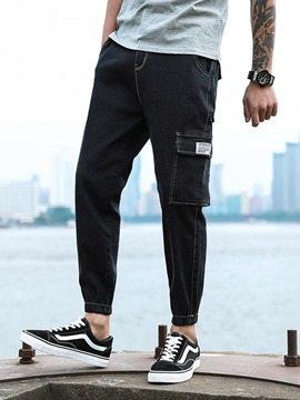 Ericdress Pencil Pants Korean Zipper Men's Jeans