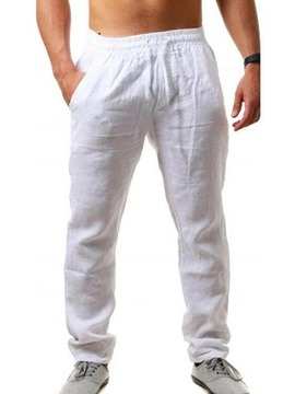 Ericdress Thin Plain Four Seasons Mid Waist Casual Men's Slim Pants