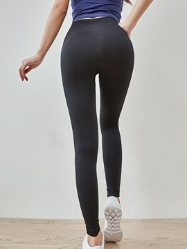 Ericdress Nylon Anti-Sweat Female Ankle Length Yoga Pants High Waist Tiktok Leggings