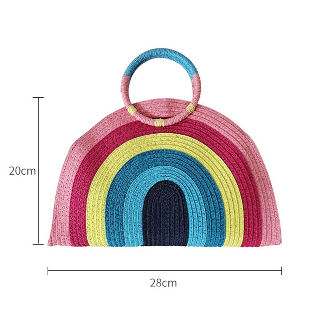 Ericdress Sweet Knitted Circular Tote Bags