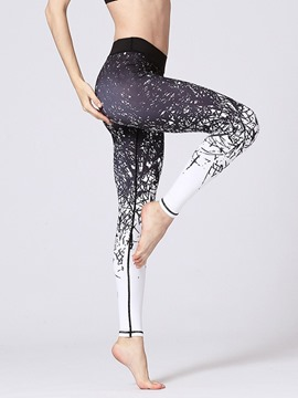 Ericdress Anti-Sweat Female Full Length Pants Yoga Pants High Waist Tiktok Leggings