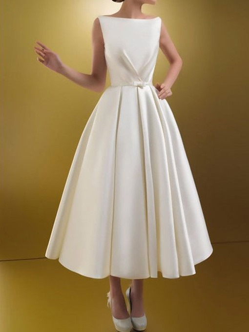 Ericdress Sleeveless Ankle-Length Fashion Expansion Dress