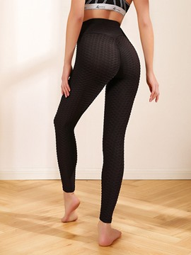 Ericdress Breathable Solid Yoga Female Pants Yoga Pants High Waist Tiktok Leggings