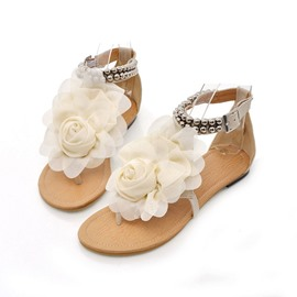 Ericdress Flat With Thong Buckle Casual Sandals