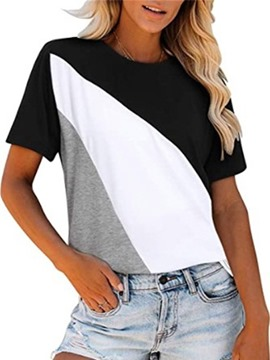 Ericdress Standard Short Sleeve Round Neck Casual Loose Women's T-Shirt