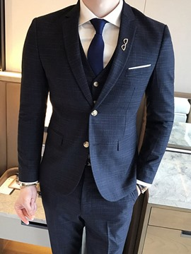 Ericdress Korean Single-Breasted Men's Blazer Dress Suit