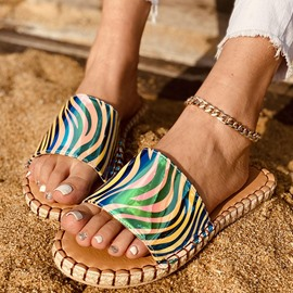 Ericdress Flat With Slip-On Flip Flop Casual Slippers