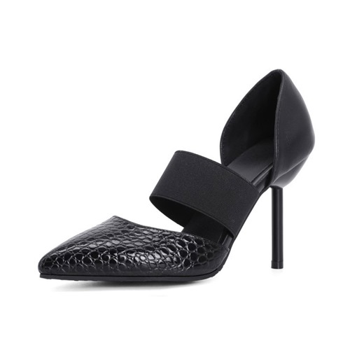 Ericdress Slip-On Pointed Toe Stiletto Heel Low-Cut Upper Thin Women's Shoes