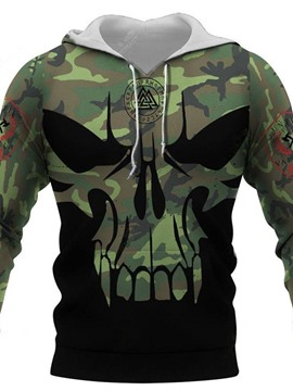 Ericdress Thick Camouflage Pullover Pullover Casual Hoodies