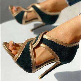 Ericdress Slip-On Thread Pointed Toe High Heel (5-8cm) Thin Shoes