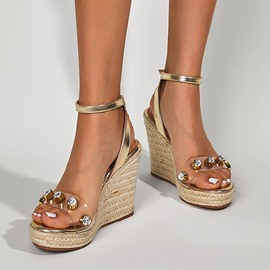 Ericdress Slingback Strap Round Toe Buckle Western Sandals