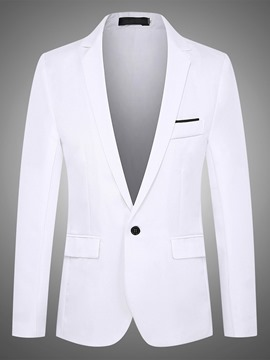 Ericdress Notched Lapel OL Button Men's Leisure Blazer