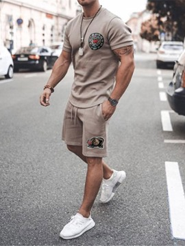 Ericdress Print Casual Pants Men's Sports Outfit