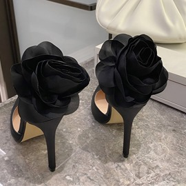Ericdress Pointed Toe Buckle Buckle Low-Cut Upper Thin Shoes Pumps